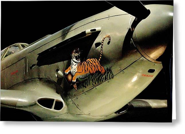 Yak Photographs Greeting Cards - Yak 9 Tiger Greeting Card by Benjamin Yeager