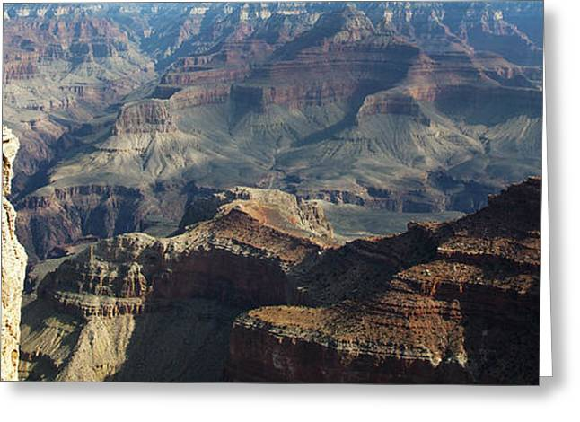 Yaki Greeting Cards - Yaki Point Grand Canyon Greeting Card by Gilbert Artiaga