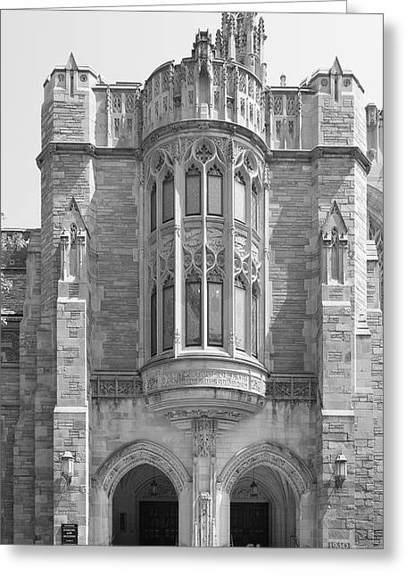 Yale University Sterling Law Building Greeting Card by University Icons