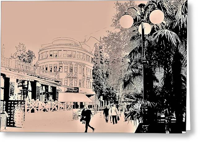 Yalta Streets  Greeting Card by Rick Todaro