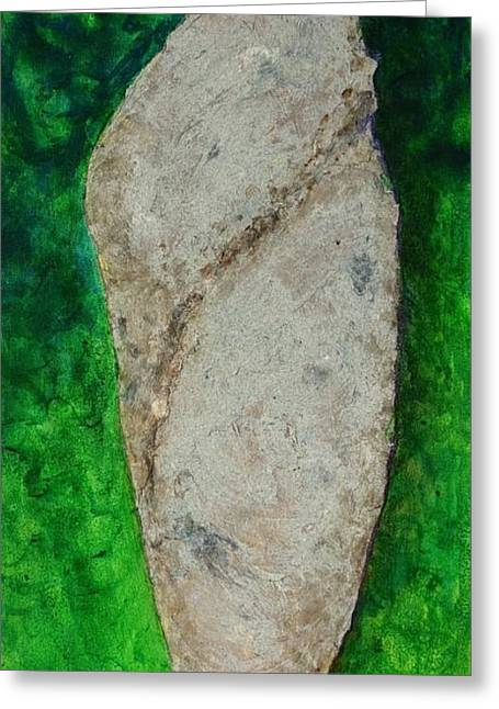 Cocoon Greeting Cards - Yang Cocoon Greeting Card by Susan Andre