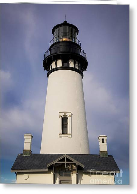 Rotate Greeting Cards - Yaquina Head Greeting Card by Brian Jannsen