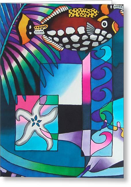 Yau Ni Viti Vi Greeting Card by Maria Rova