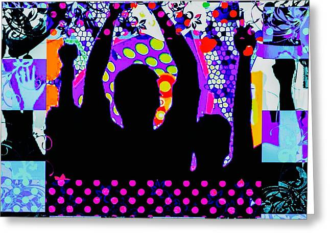 Applauding Greeting Cards - Yay Greeting Card by Caroline Gilmore