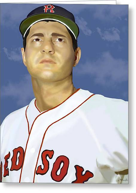 Carl Yastrzemski Greeting Cards - Yaz Greeting Card by Melissa King