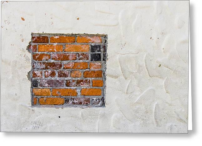 Ybor City Greeting Cards - Ybor City Hidden Brick Greeting Card by Carolyn Marshall