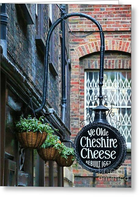 Ye Olde Cheshire Cheese Pub Greeting Card by Jack Schultz