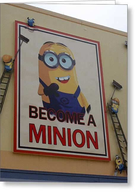 Despicable Me Greeting Cards - Year Of The Minions Greeting Card by David Nicholls