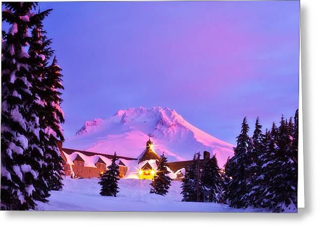 Timberline Greeting Cards - Years End Greeting Card by Darren  White