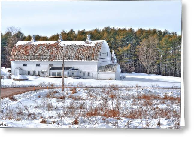 Old Roadway Greeting Cards - Years of Standing in Weather Greeting Card by Richard Bean