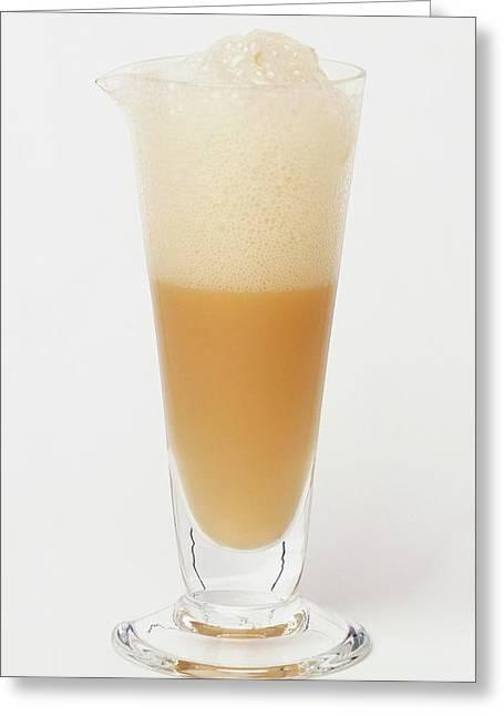 Yeast And Sugar Solution Greeting Card by Dorling Kindersley/uig