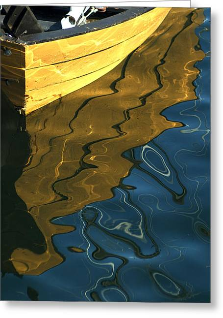 Freakish Greeting Cards - Yellow Dory Greeting Card by Keith Doucet