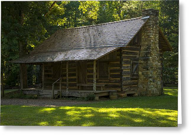 Historical Pictures Greeting Cards - Yeoman Farmhouse at Kings Mountain Greeting Card by Chris Flees
