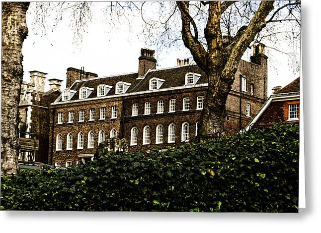 Touristy Greeting Cards - Yeoman Warders Quarters Greeting Card by Christi Kraft