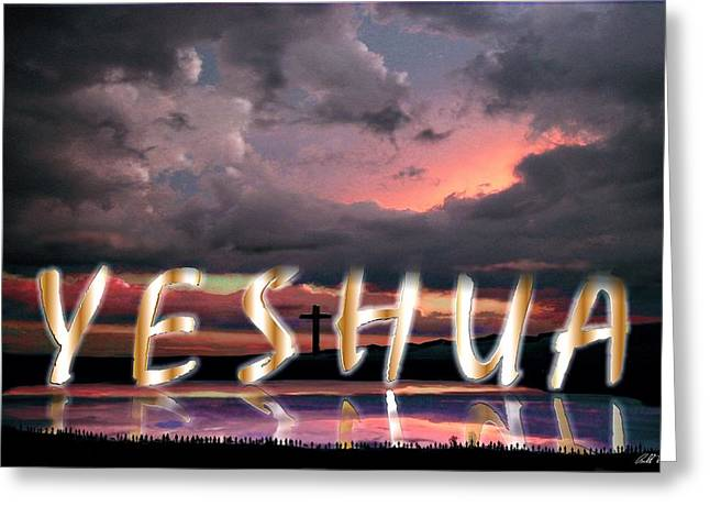 Yeshua Greeting Cards - Yeshua Greeting Card by Bill Stephens