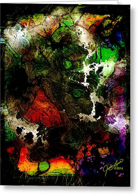 Synapsis Greeting Card by The Art Of JudiLynn