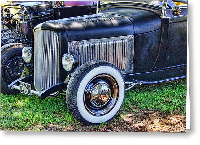 Ron Roberts Photography Greeting Cards - Yesterdays Hot Rod Greeting Card by Ron Roberts
