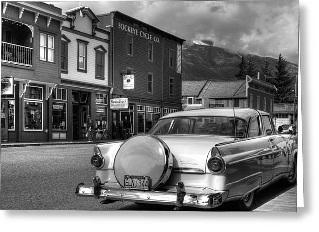 Klondike Gold Rush Greeting Cards - Yesteryear Greeting Card by Dawn Currie