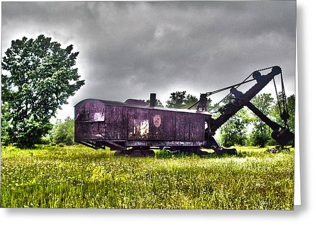 Historic Tank Greeting Cards - Yesteryear - HDR Look Greeting Card by Rhonda Barrett