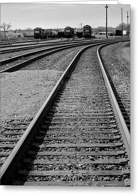 Caboose Greeting Cards - Yesteryear Greeting Card by Frozen in Time Fine Art Photography