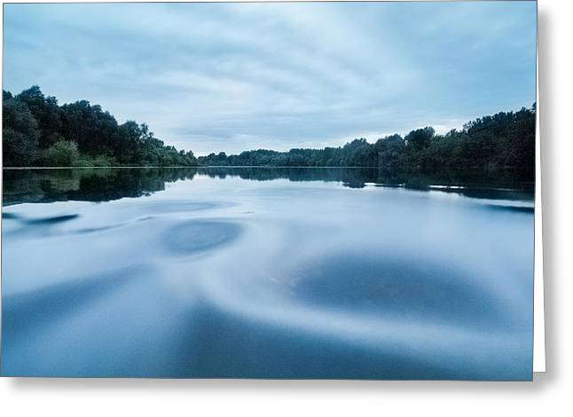 Riverscapes Greeting Cards - Yin and Yang Greeting Card by Davorin Mance
