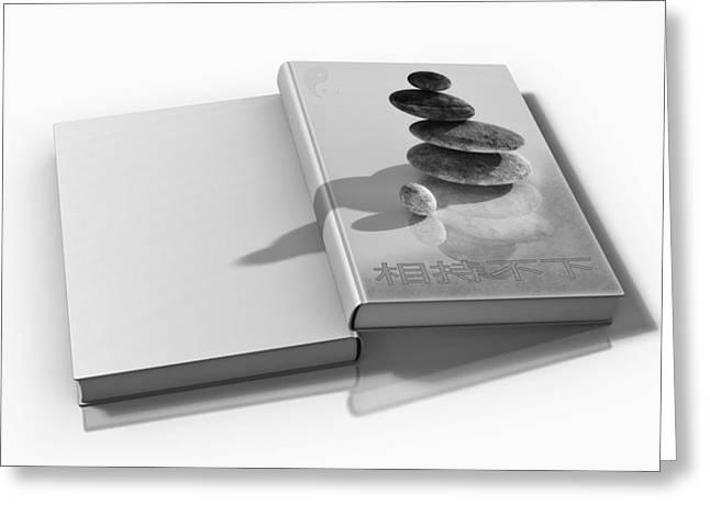 Yang Greeting Cards - Yin and Yang  Greeting Card by Mountain Dreams