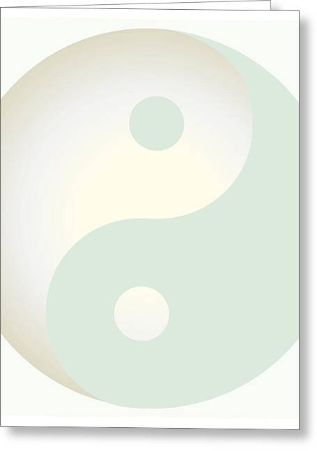 Best Sellers -  - Ying Greeting Cards - Ying Yang 101 Greeting Card by Suzanne Hicks