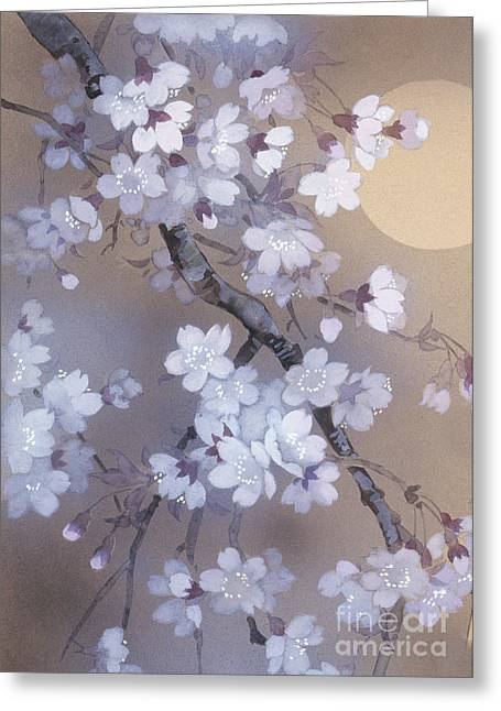 Blossom Digital Art Greeting Cards - Yoi Crop Greeting Card by Haruyo Morita