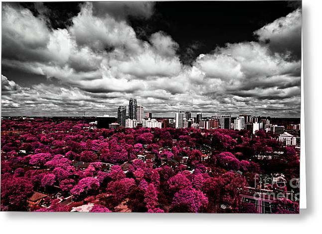 Development Greeting Cards - Yonge and Eglinton IR Greeting Card by Charline Xia