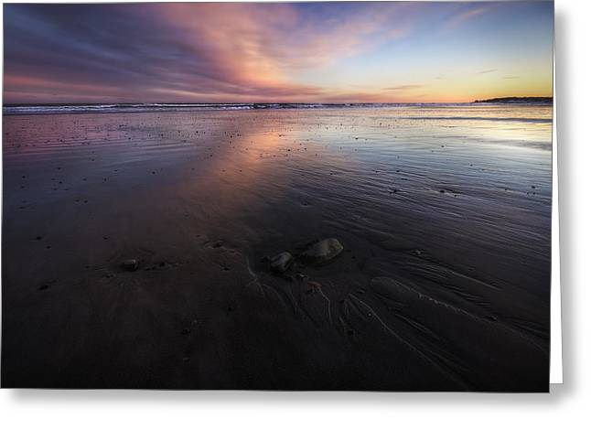 York Beach Greeting Card by Eric Gendron