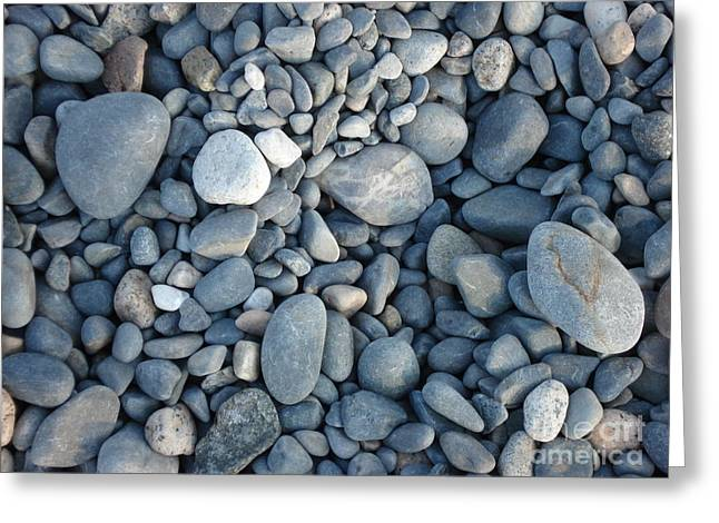York Beach Paintings Greeting Cards - York Beach Rock Greeting Card by Kim Heil