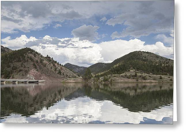 Canyon Ferry Lake Greeting Cards - York Bridge Greeting Card by Fran Riley