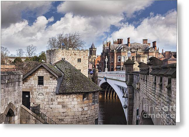 Historic England Greeting Cards - York Greeting Card by Colin and Linda McKie