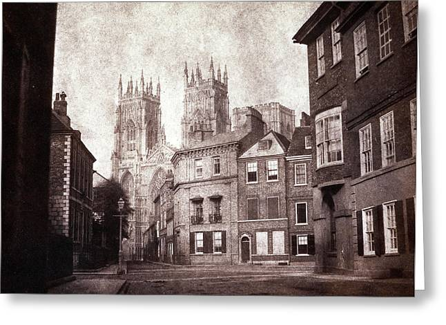 York Minster Greeting Card by British Library