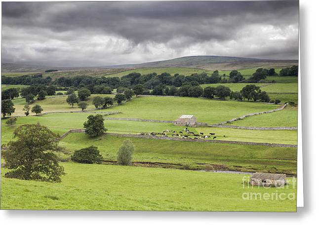 England Landscape Greeting Cards - Yorkshire Dales Greeting Card by Colin and Linda McKie