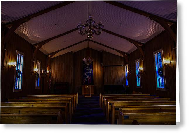 Mariposa County Greeting Cards - Yosemite Chapel Greeting Card by Scott McGuire