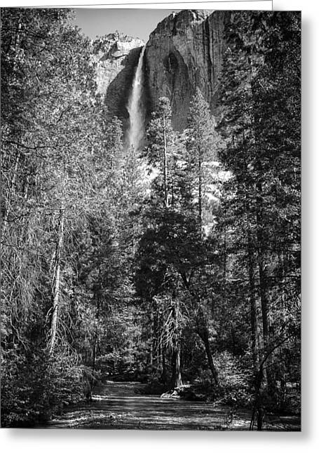 Yosemite In The Summer Greeting Cards - Yosemite Classic Greeting Card by Laurent Fox