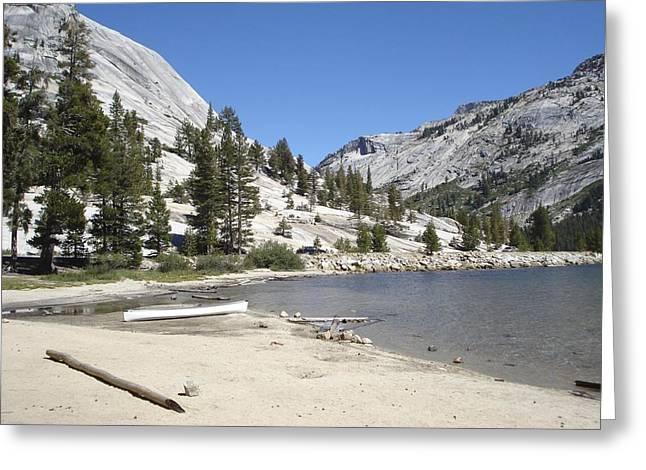 Yosemite Greeting Card by Kimberly Oegerle