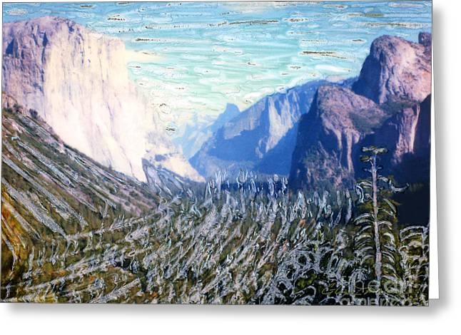 Yosimite Greeting Cards - Yosemite Valley Fun Greeting Card by Glenn McNary