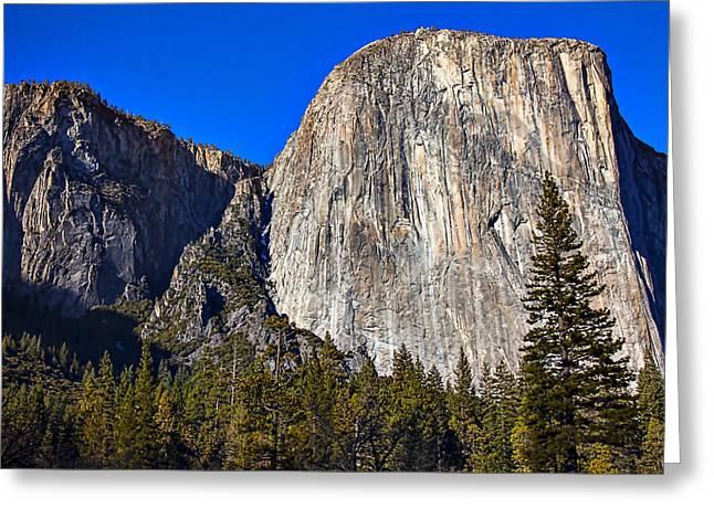 El Greeting Cards - Yosemites El Capitan Greeting Card by Garry Gay