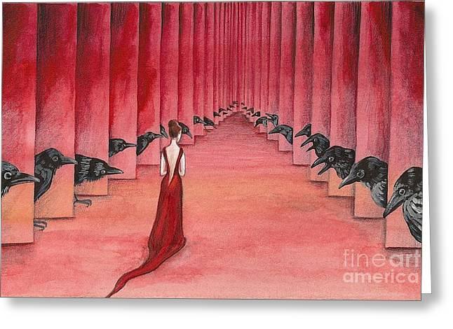 Ryta Greeting Cards - You Are Invited Greeting Card by Margaryta Yermolayeva