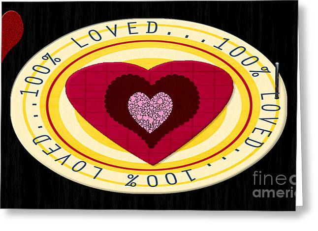 Installation Art Greeting Cards - You Are Loved Greeting Card by Tina M Wenger