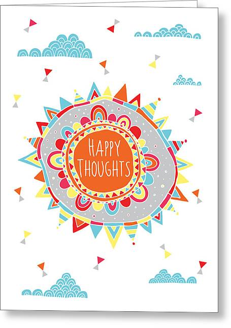 You Are My Sunshine, Variant 1 Greeting Card by Susan Claire