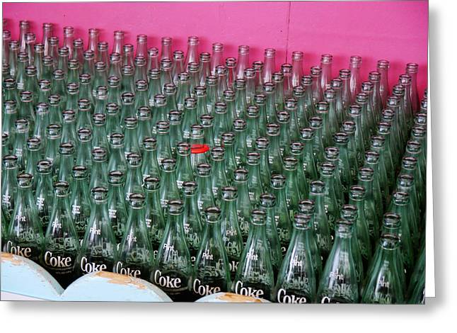 Win Bottles Greeting Cards - You are One in a Million Greeting Card by Richard Reeve