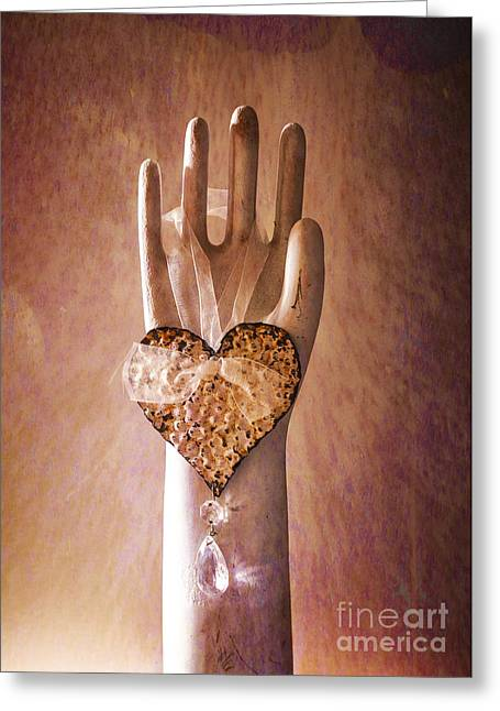 Commonplace Greeting Cards - You Can Have My Heart Greeting Card by Terry Rowe