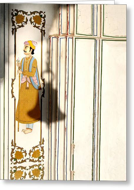 Traditional Doors Greeting Cards - You can ring my bell Greeting Card by A Rey