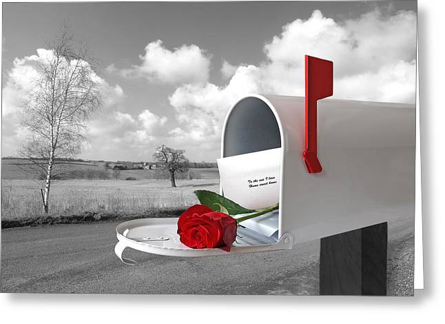 Love Letter Greeting Cards - You Have Mail Greeting Card by Gill Billington