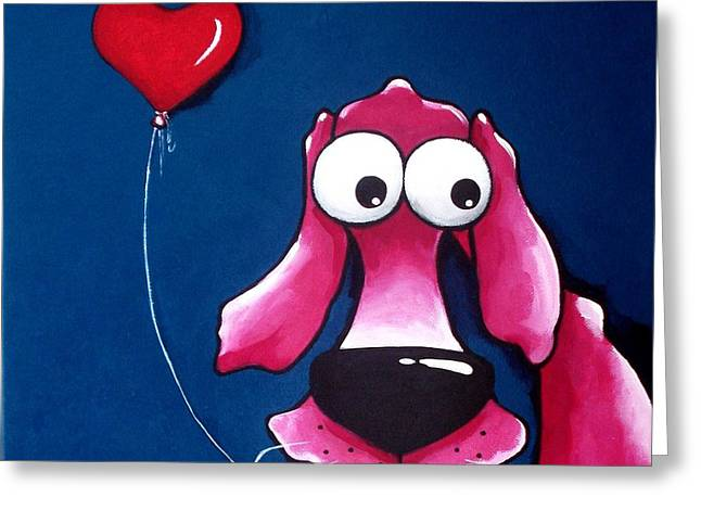 You have my heart Greeting Card by Lucia Stewart