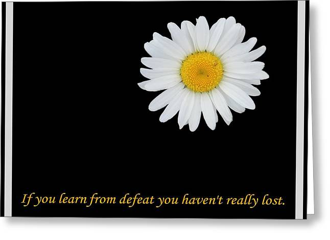 Subconscious Greeting Cards - You Havent Really Lost Greeting Card by Barbara Griffin