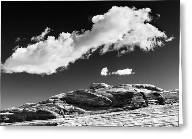 Valley Of Fire Nevada Greeting Cards - You in mid air Greeting Card by Joseph Smith